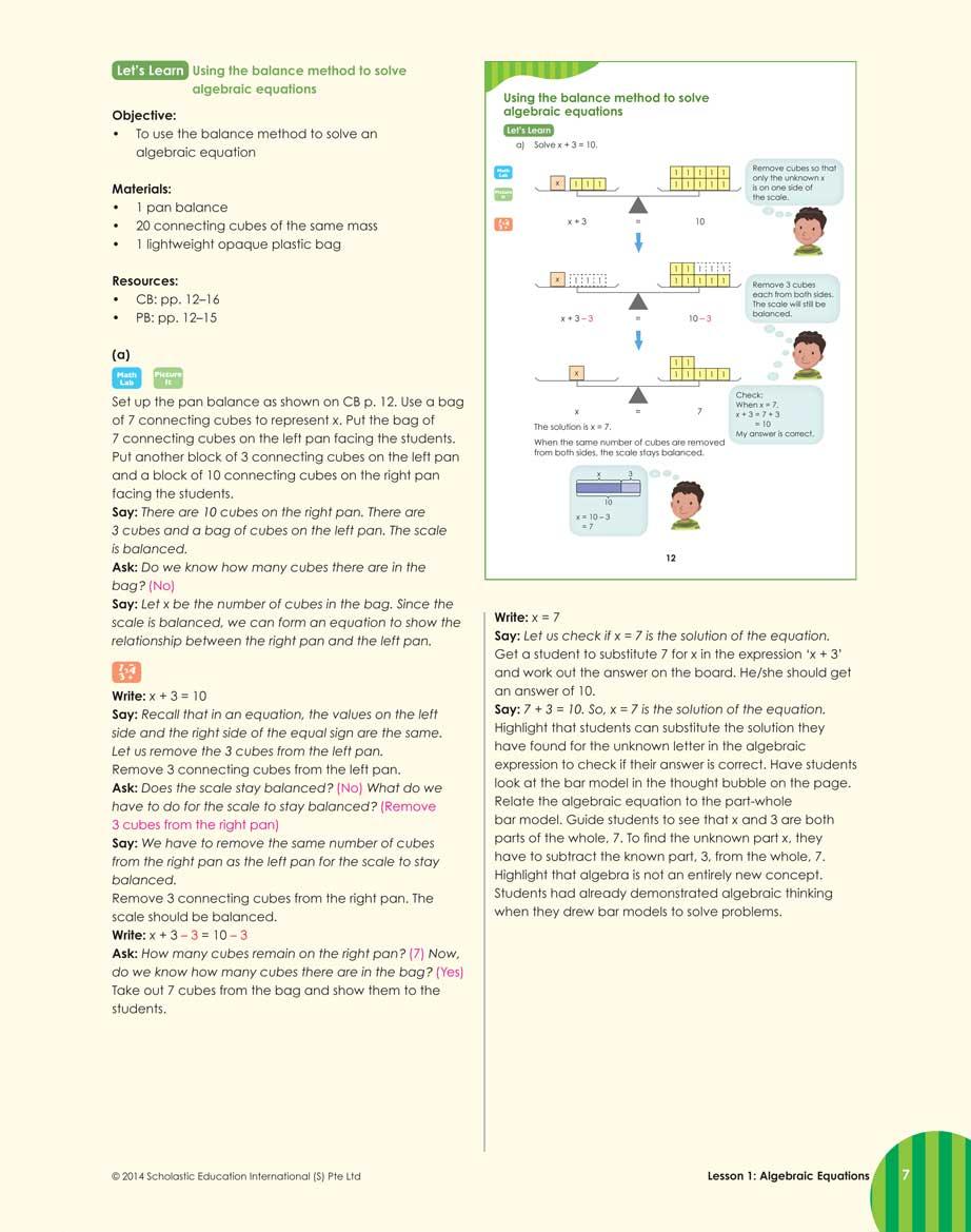 Teacher's Guide 6A