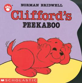 Clifford'S Peekaboo Shaped Board Book