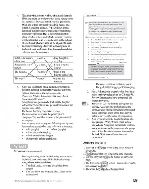 Teacher's Manual 5