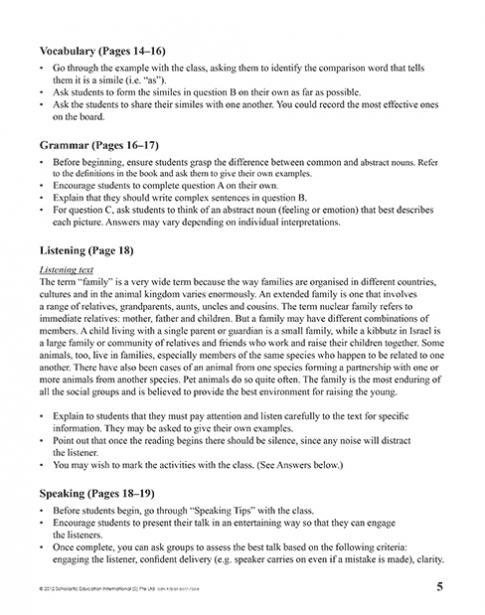 Teacher's Manual 6