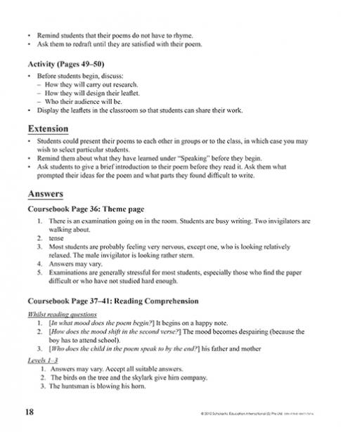 Teacher's Manual 7