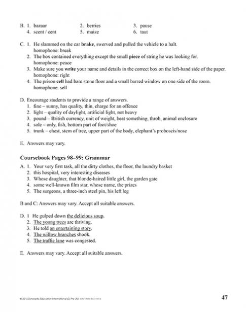 Teacher's Manual 8