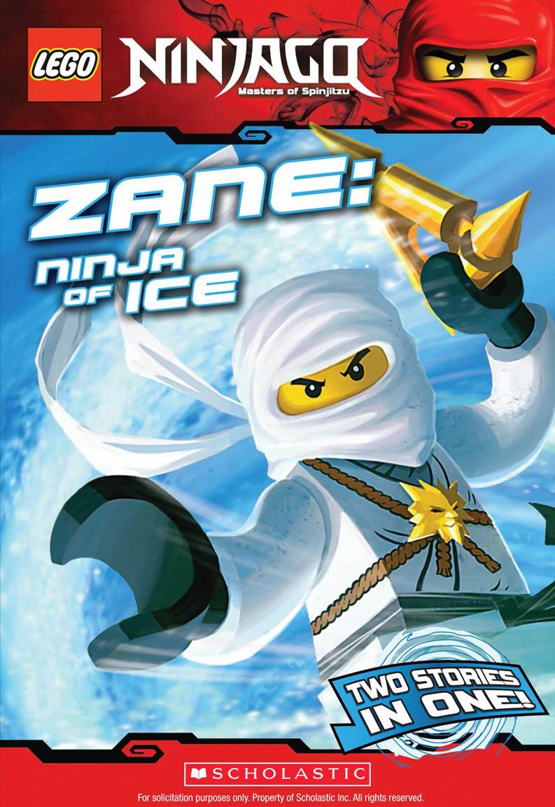 Lego Ninjago: Zane: Ninja Of Ice (Chapter Book #2)