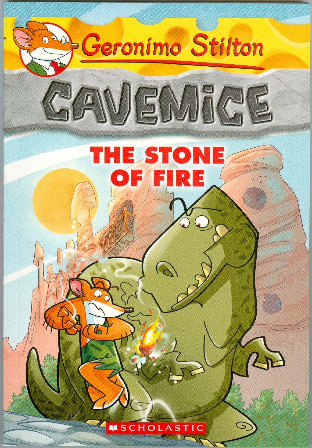 Cavemice #1: The Stone of the Fire