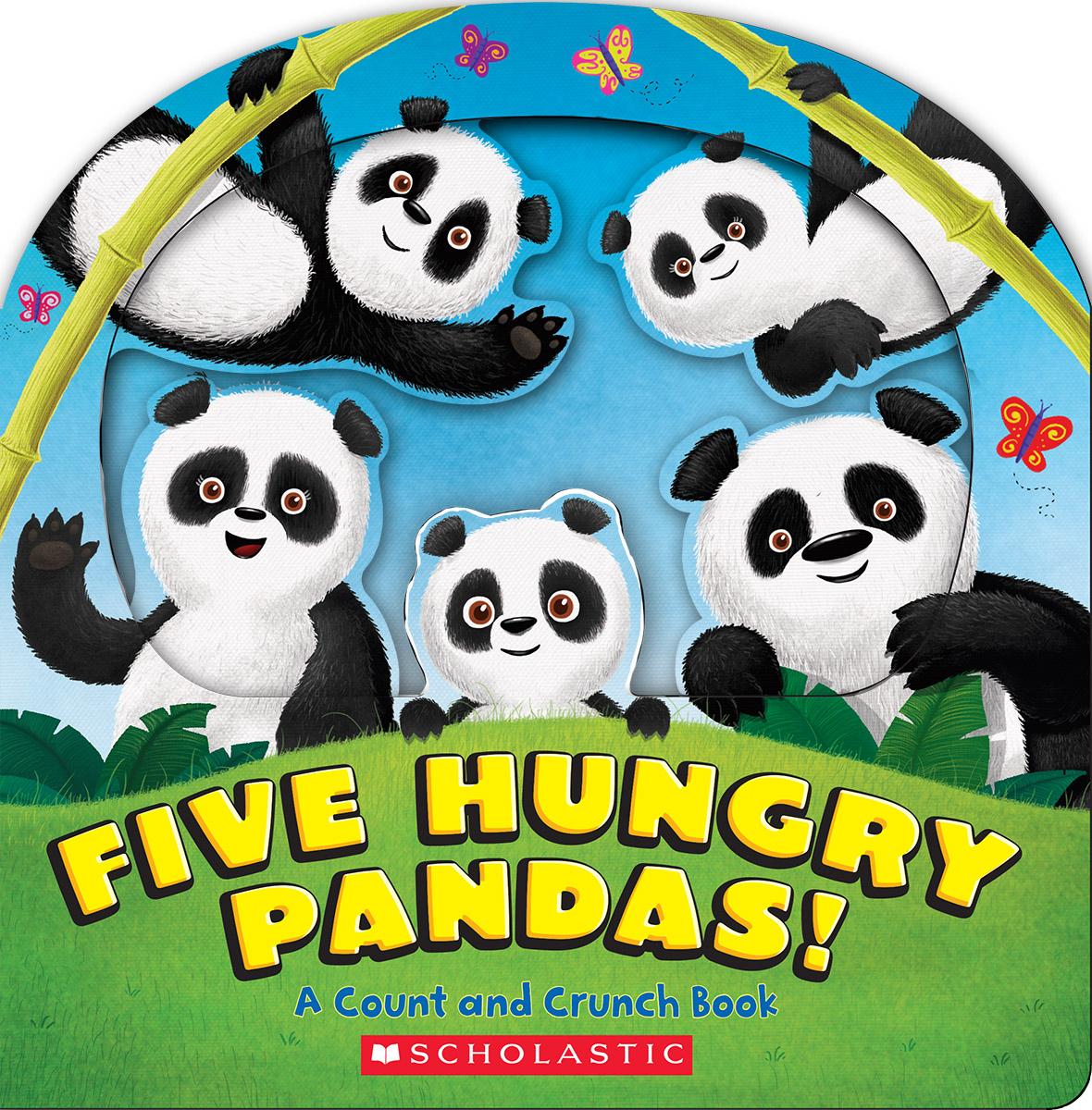 Five Hungry Pandas!