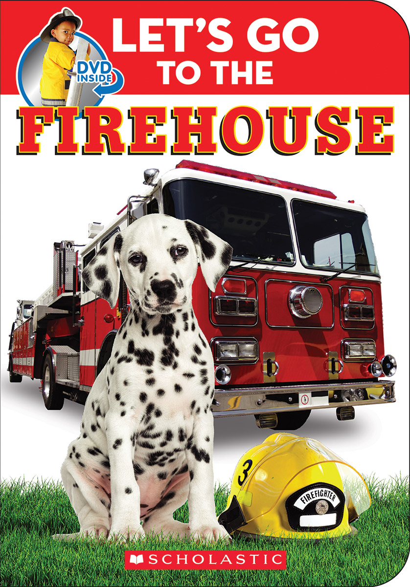Let'S Go To The Firehouse Padded Board Book And Dvd Set