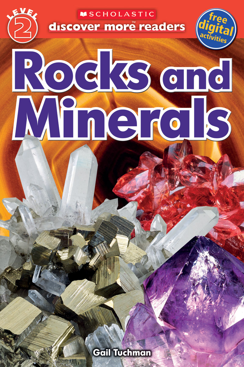 Scholastic Discover More Reader Level 2: Rocks And Minerals