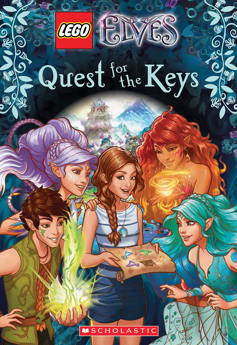 Lego Elves: Quest For The Keys (Chapter Book #1)