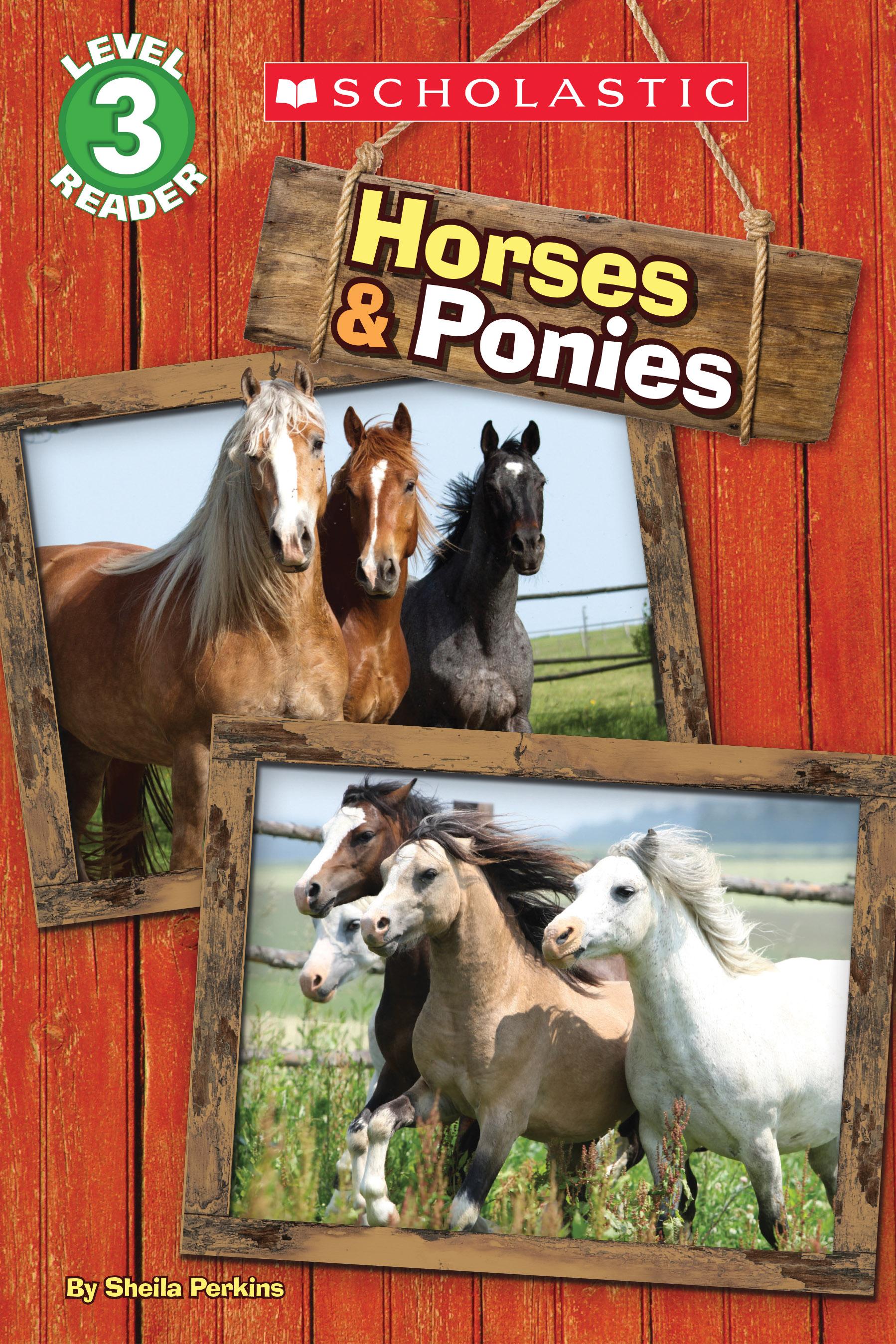 Schol Rdr Lvl 3: Horses And Ponies