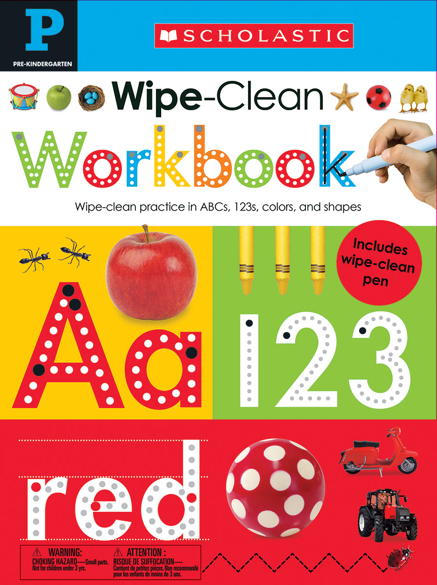 Wipe Clean Workbooks - Pre K
