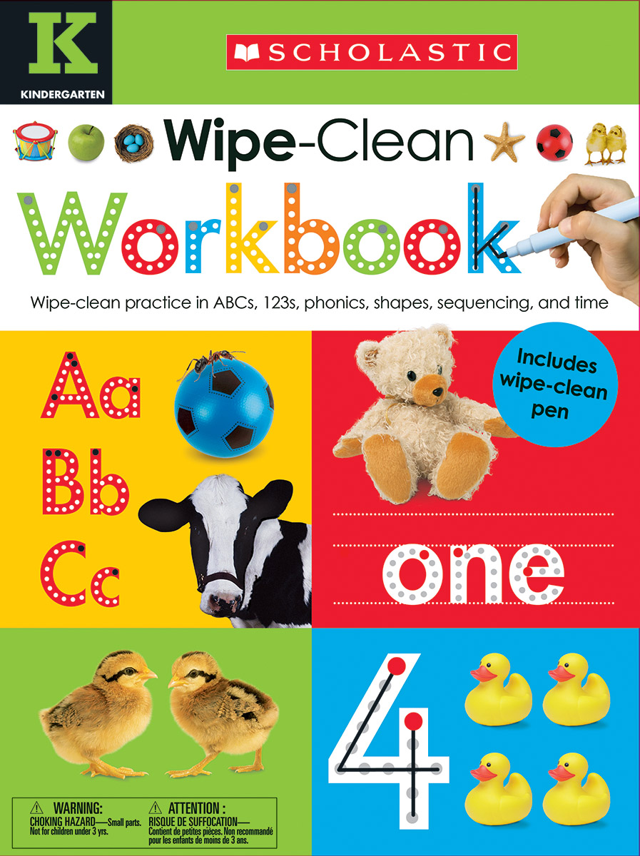 Wipe Clean Workbooks - Kindergarten