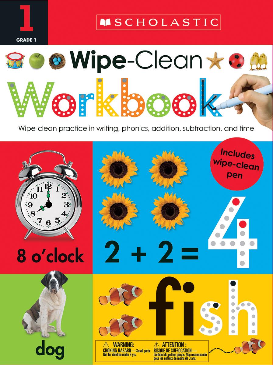 Wipe Clean Workbooks - Grade 1