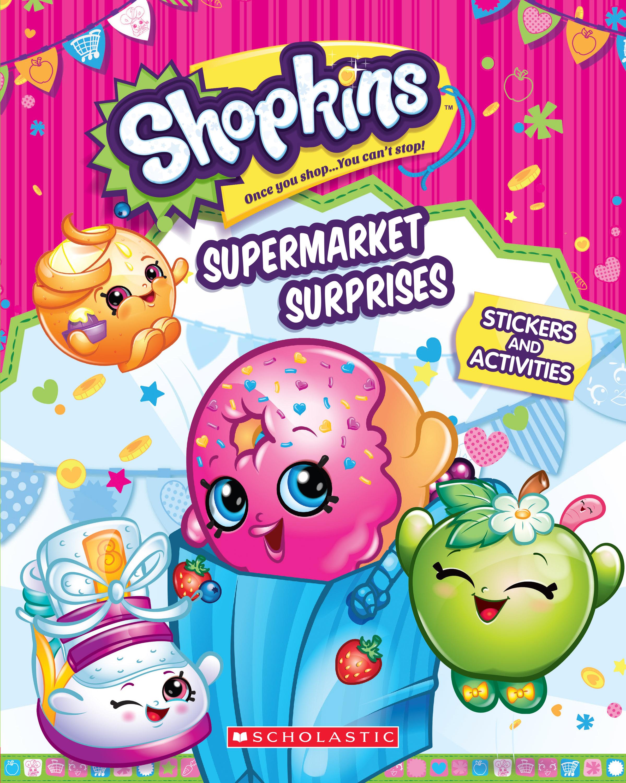 Shopkins: Supermarket Surprises (Sticker Activity Book)