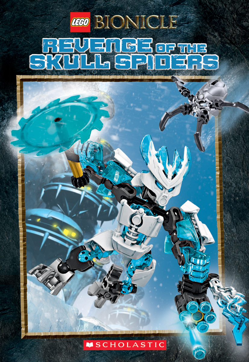 Lego Bionicle: Revenge Of The Skull Spiders (Chapter Book #2)