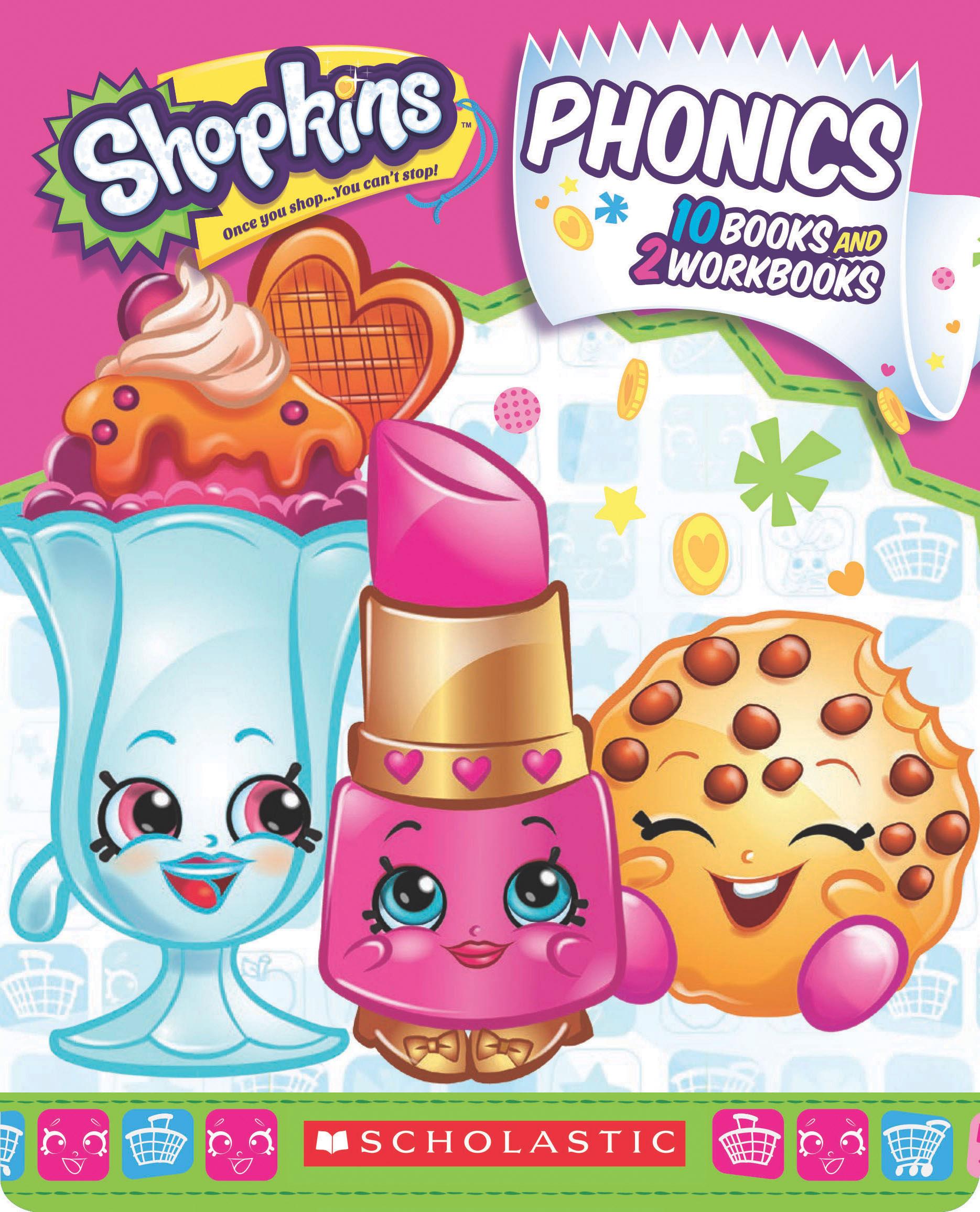 Shopkins Phonics Boxed Set