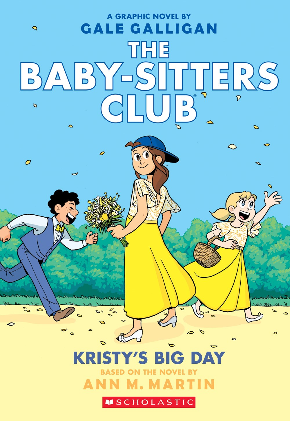 The Baby Sitters Club Graphic Novel 6 Kristy S Big Day Full Color Edition Scholastic International