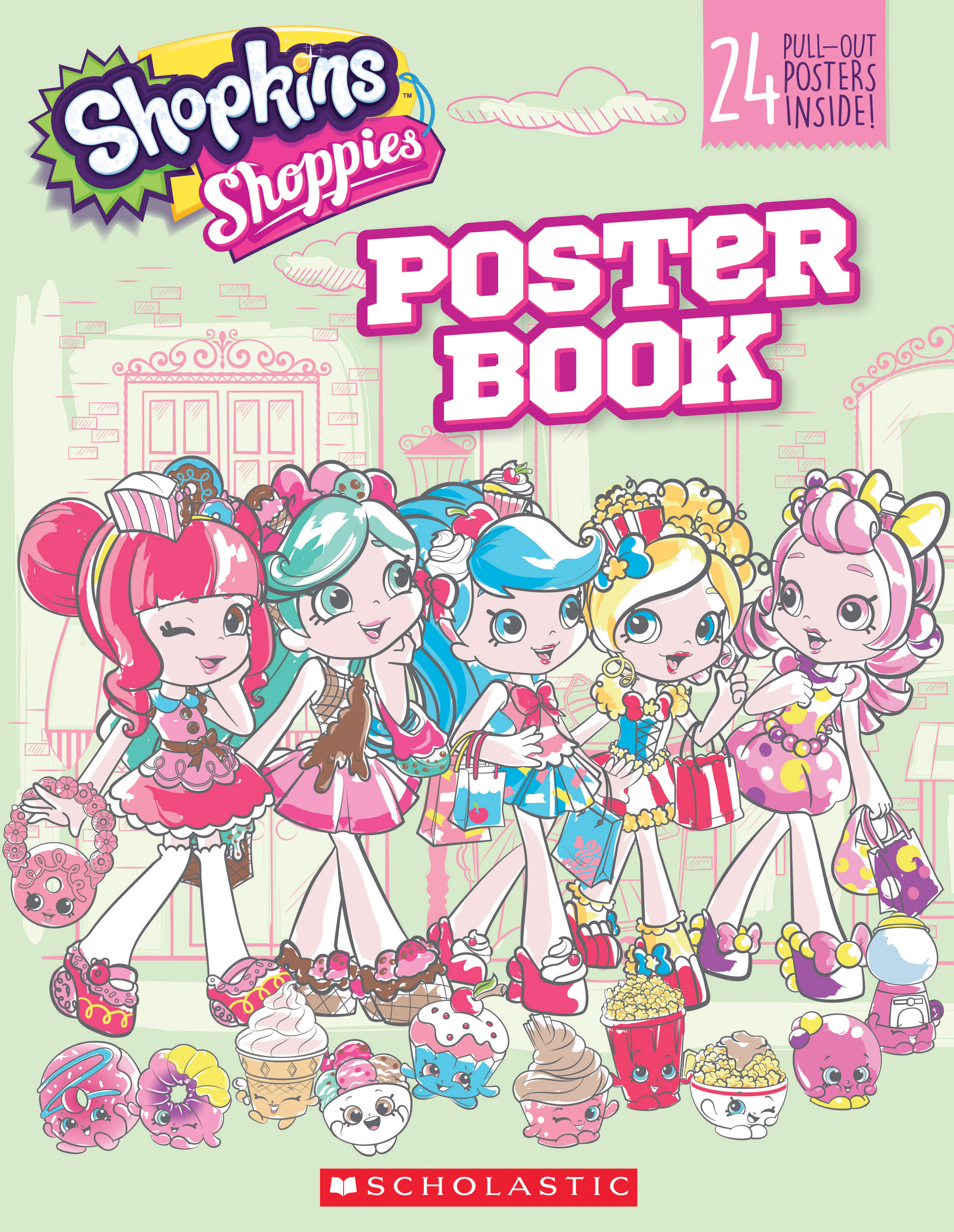 Pullout Poster Book (Shopkins: Shoppies)