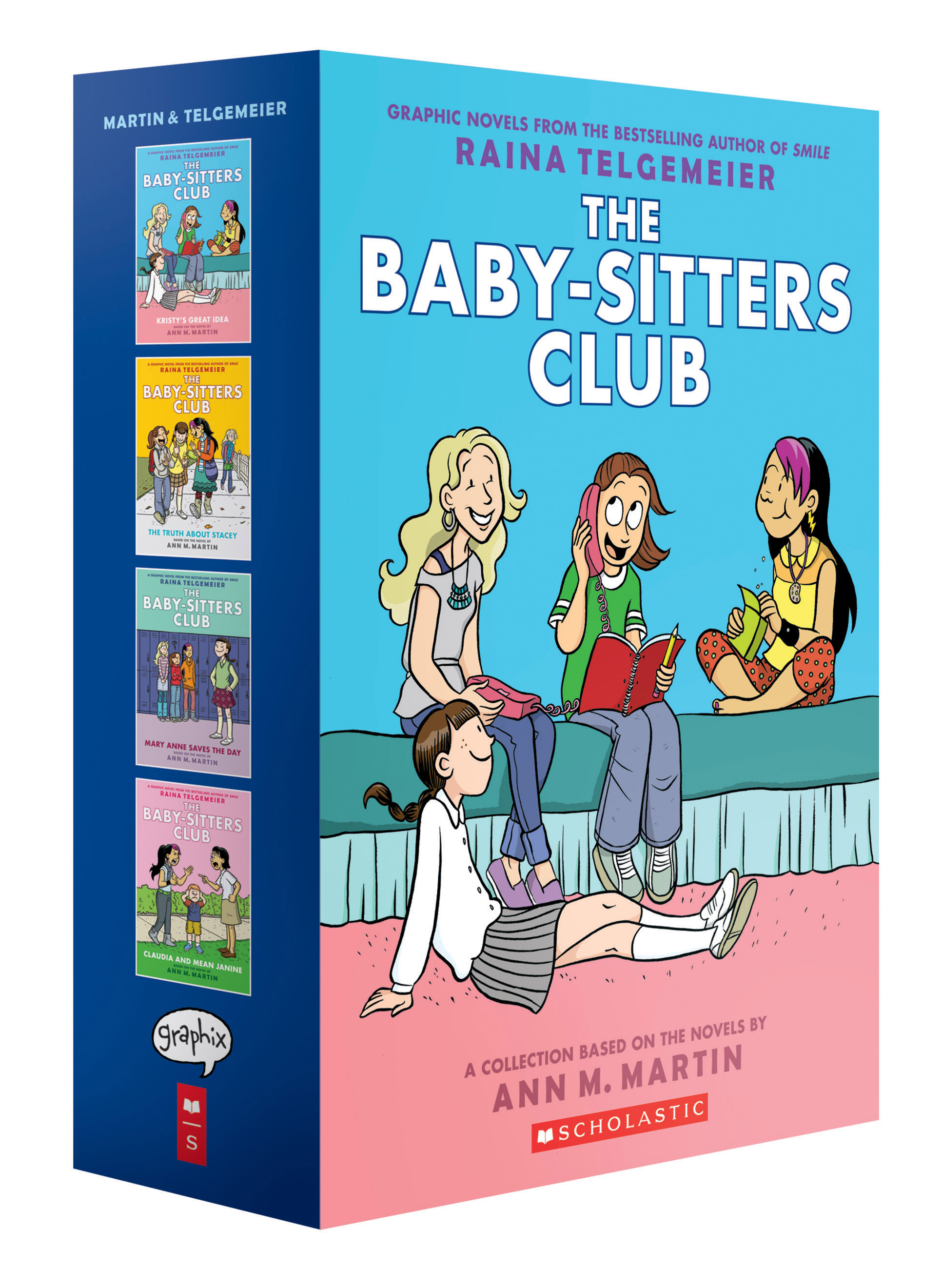 The Baby Sitters Club Graphix 1 4 Box Set Full Color Edition Scholastic International