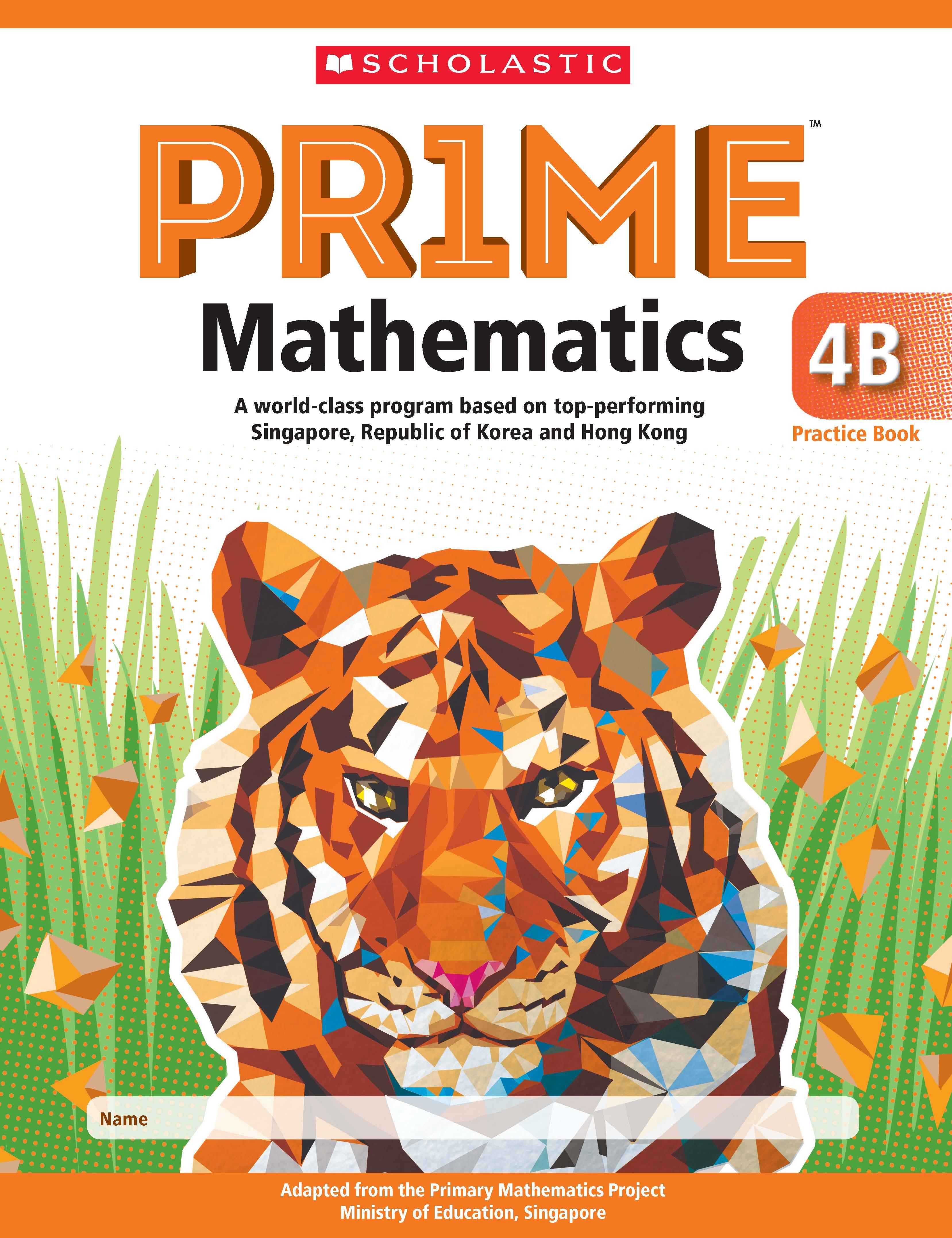 Prime Mathematics Practice Book 4B