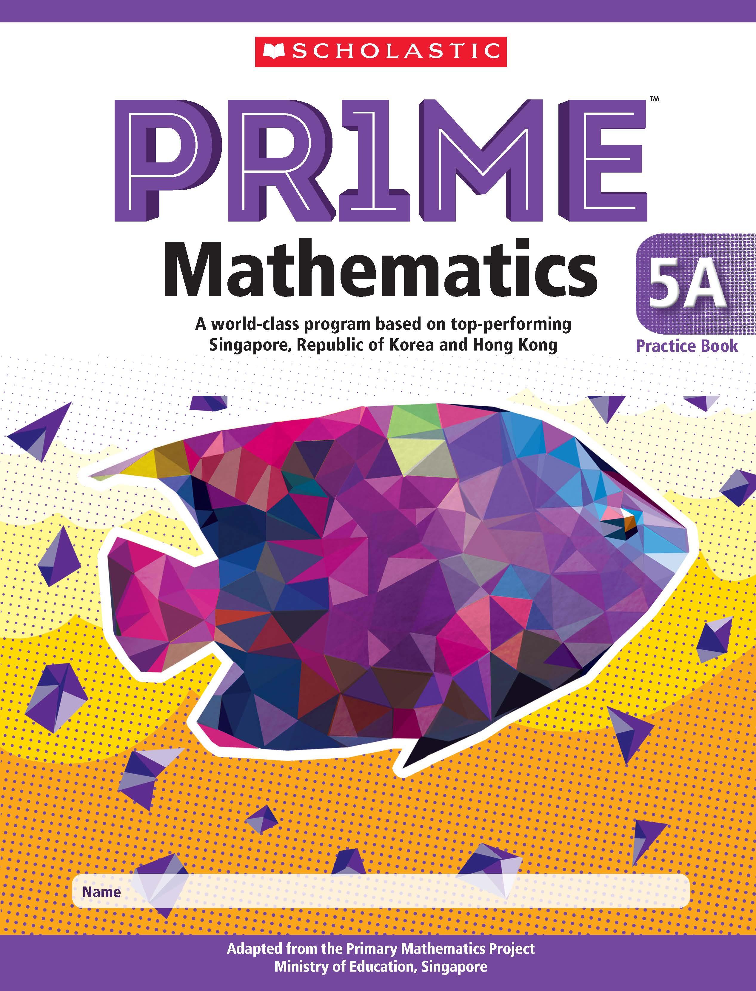 Prime Mathematics Practice Book 5A