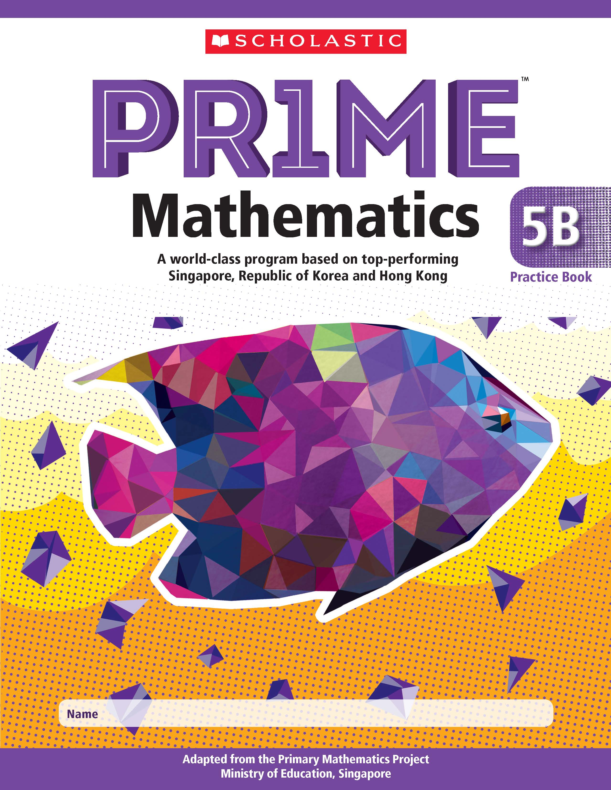 Prime Mathematics Practice Book 5B