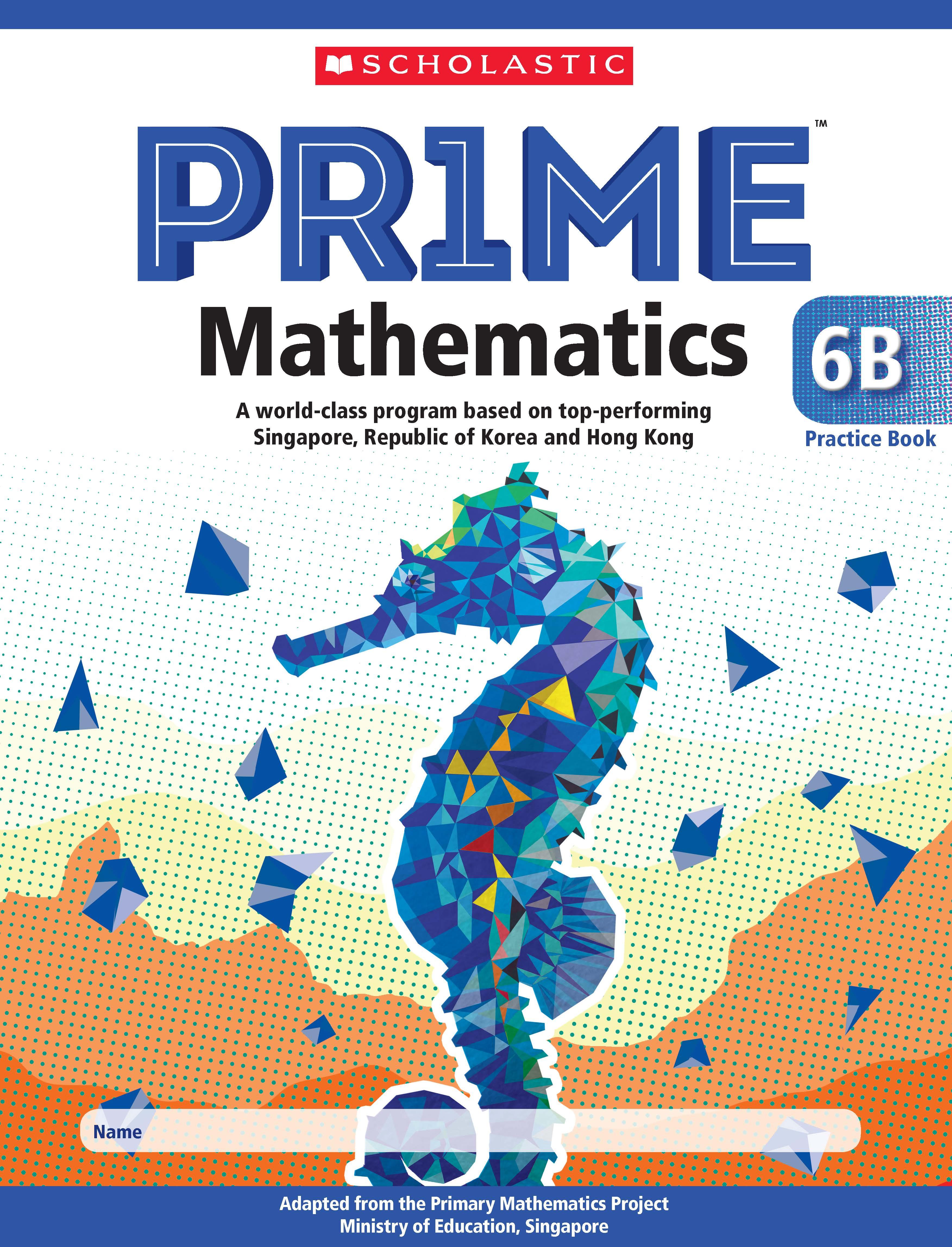 Prime Mathematics Practice Book 6B