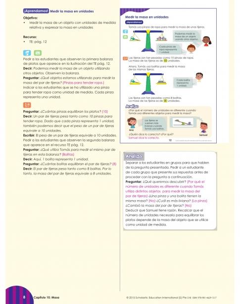 Guía del profesor 1B
