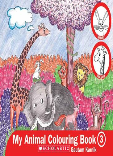 MY ANIMAL COLOURING BOOK 3