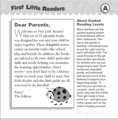 Parent Guide (Level A)