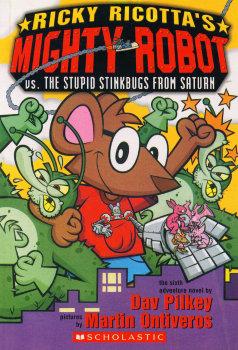 Ricky Ricotta's Mighty Robot vs the Stinkbugs from Saturn