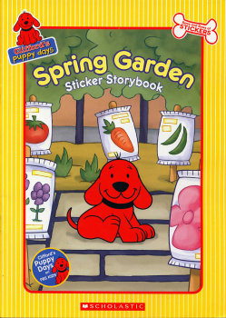 Spring Garden Sticker Book