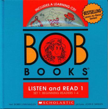 Bob Books: Listen and Read 1