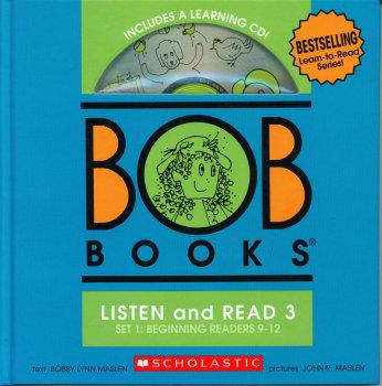 Bob Books Listen and Read 3