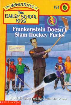 #34 Frankenstein Doesn't Slam Hockey Pucks