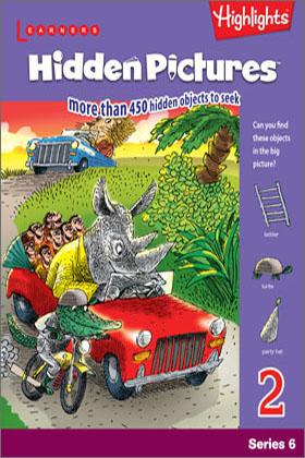 Hidden Pictures Book 2 (Series 6)