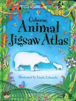 Usborne Animal Jigsaw Atlas