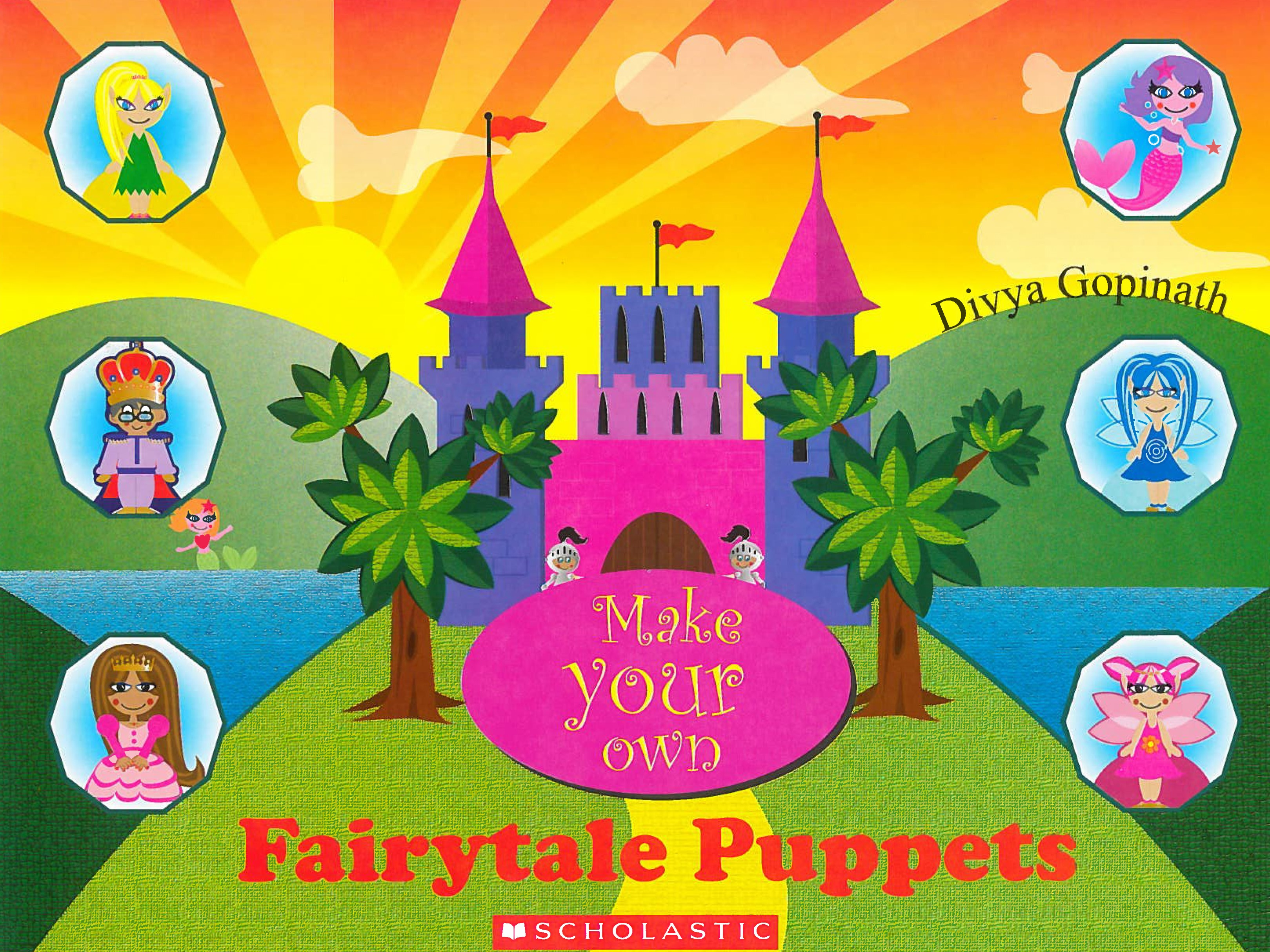 Make your own: Fairytale Puppets