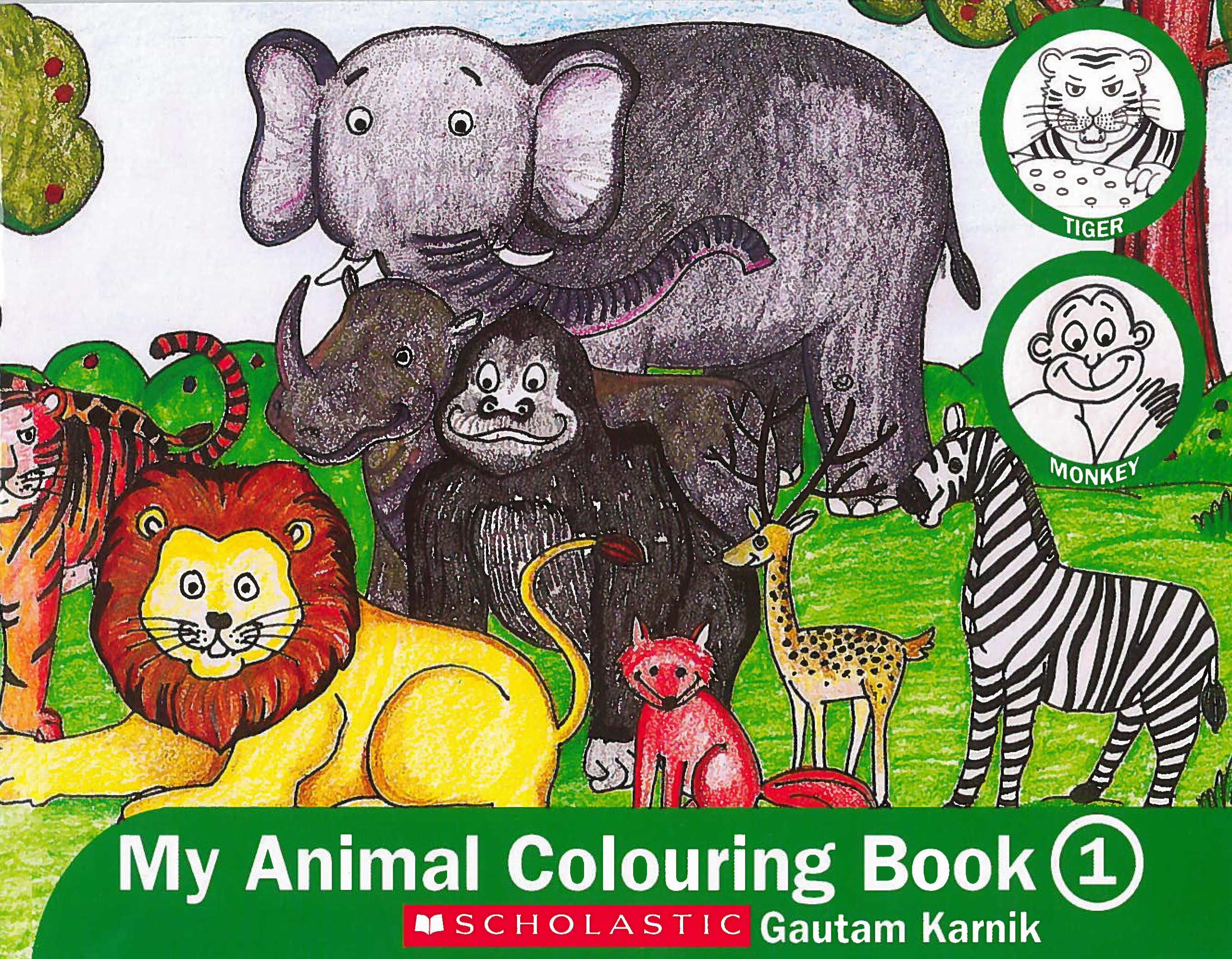 My Animal Colouring Book 1