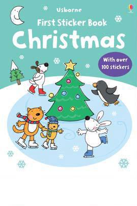 First Sticker Book Christmas