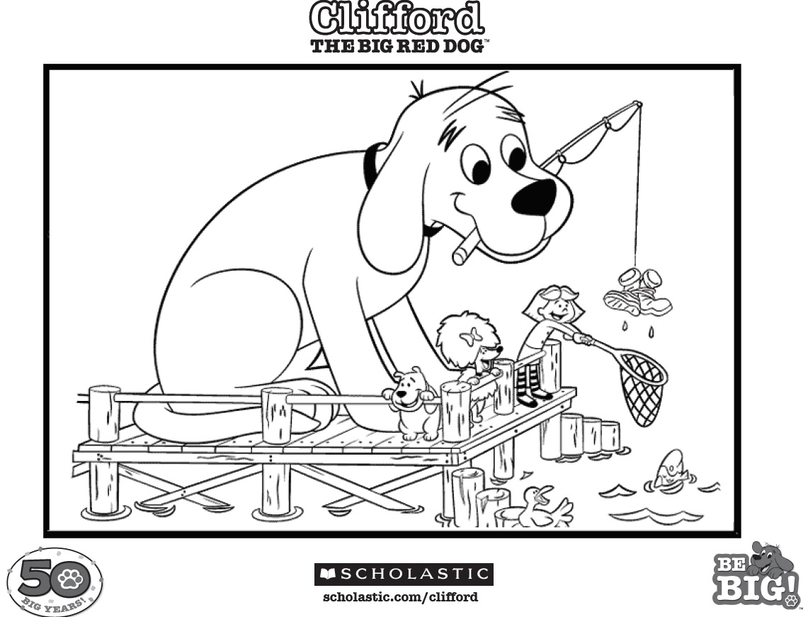 Clifford - Coloring