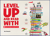 Decorative poster to show reading progress
