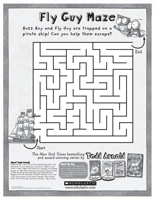 Fly Guy - Maze