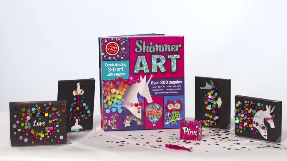 Klutz: Shimmer Art