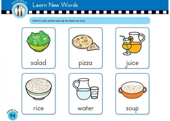 Nursery - Vocabulary