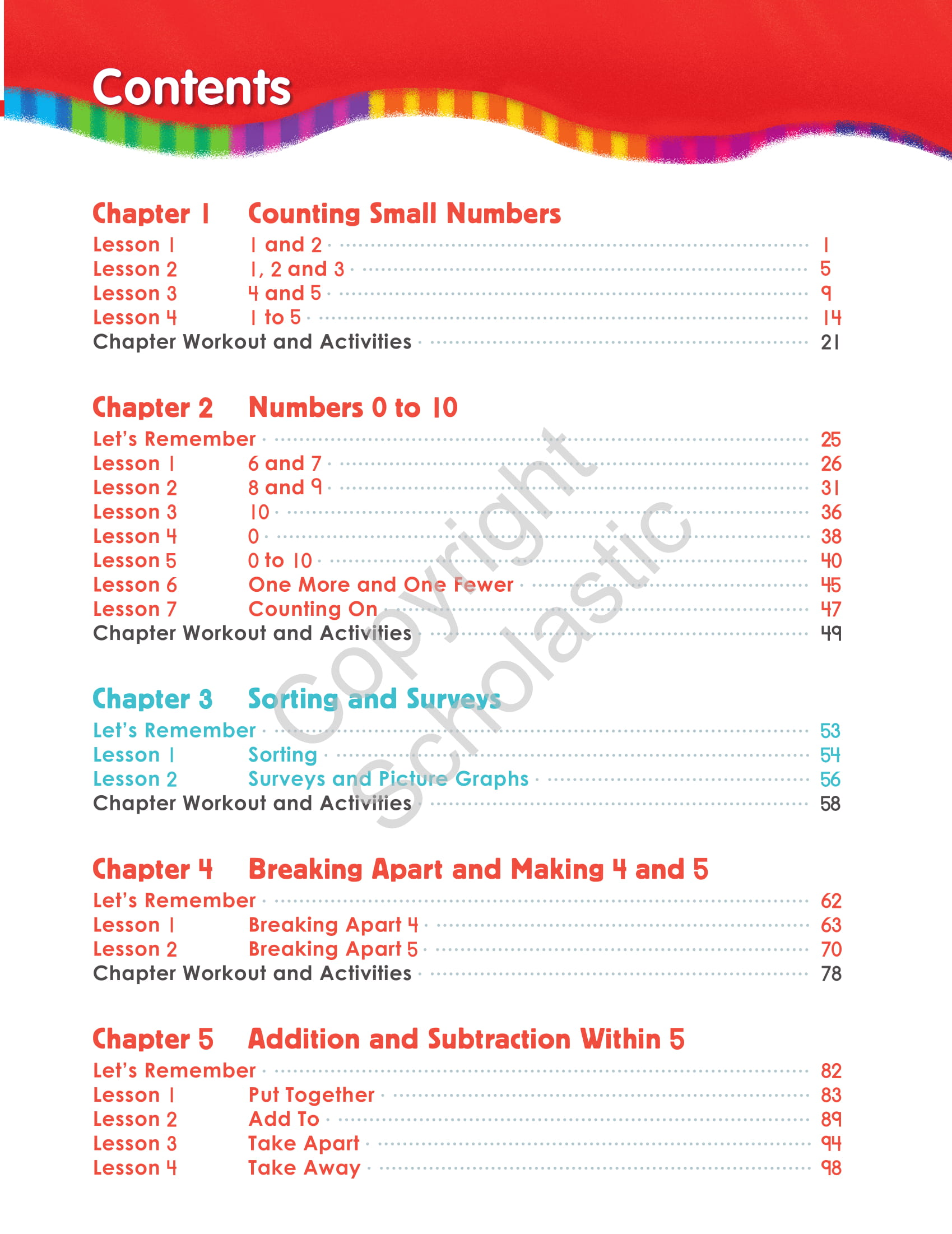 Core Material - Student Book