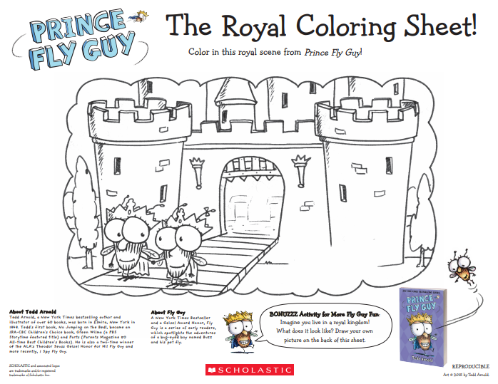 Royal Activities - Coloring