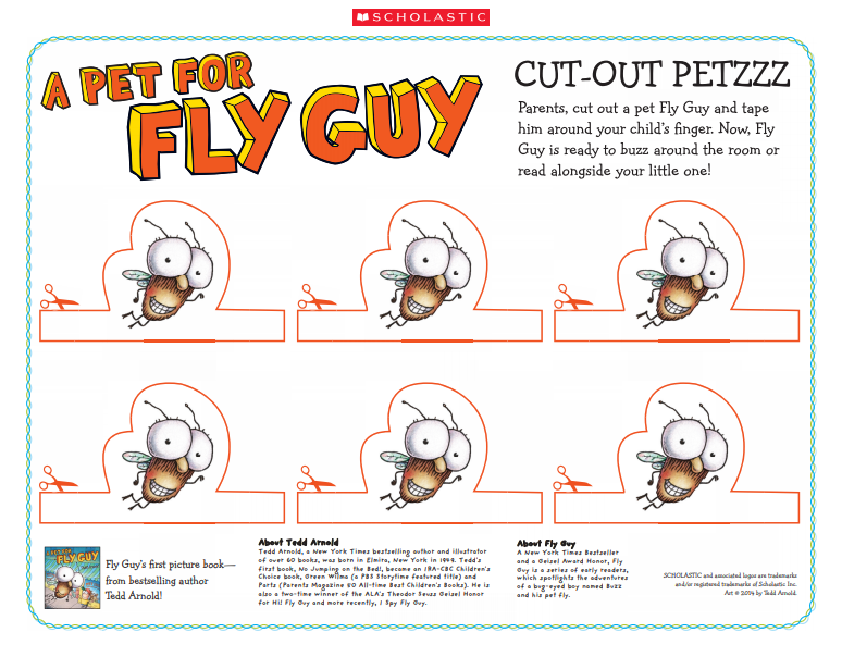 Fly Guy - Punch Out Petzz