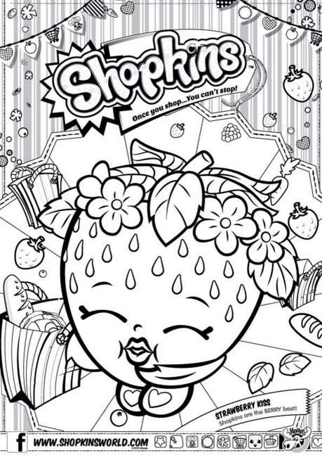 Shopkins Coloring Page 4