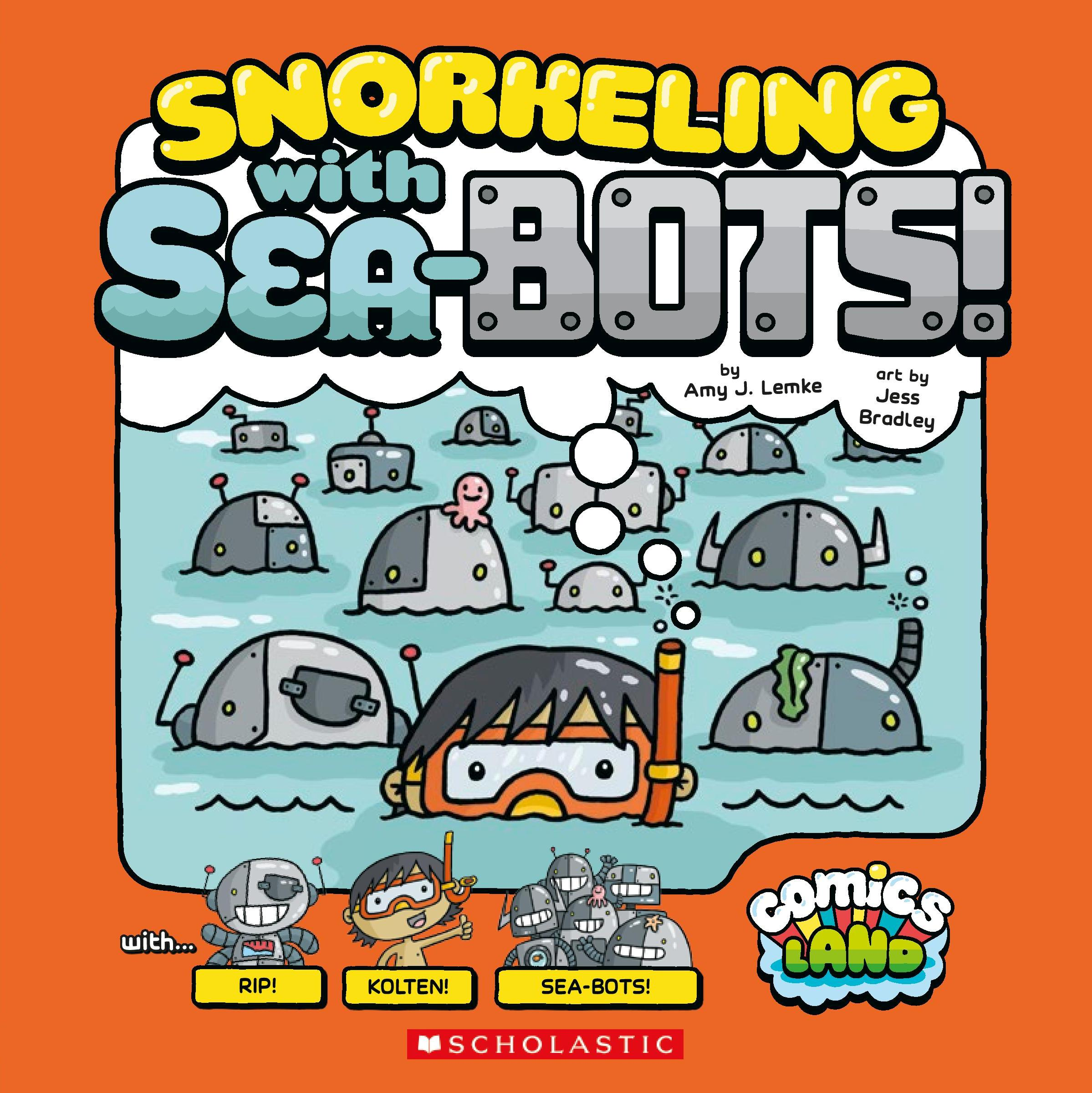 Snorkeling With Sea Bots!