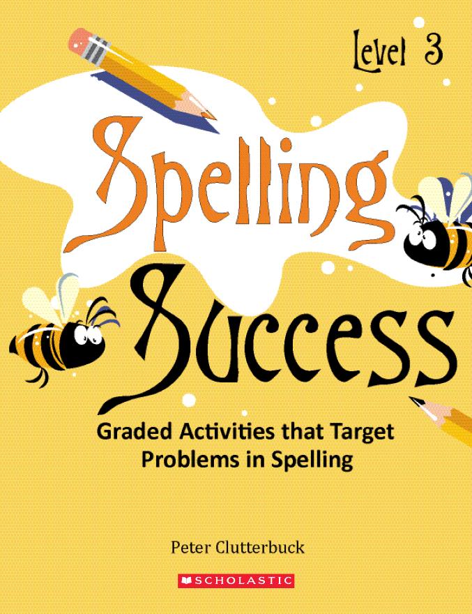 Spelling Success Level 3